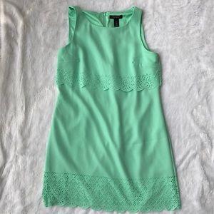 WHBM Green Dress